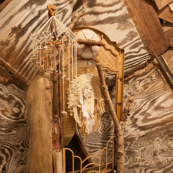 cinders gallery we are dust recycled material installation  Brooklyn New York tod seelie